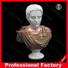 Scultura di marmo del busto della statua del busto dell'uomo