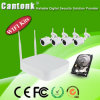 H. 264 안전 4CH WiFi IP 사진기와 NVR 장비 무선 장비 (WiFi9204P200A_)