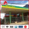 Panel de revestimiento de la gasolinera/el panel de la bandera de la exhibición (el panel compuesto de aluminio)