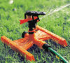 Impulse Sprinkler W/H Base 1/2 Controllable Angle and Rocker Arm Irrigation Sprinkler Garden Sprinkler