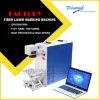 Máquina de gravura da marcação do laser da fibra do Ce FDA para metais