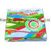 Euroart-dünnes Anzeigeinstrument-gewölbter Kraftpapier-Pizza-Kasten (PB160607)