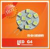 9PCS SMD van uitstekende kwaliteit 5050 120° 9-18VAC 9-28VDC LED G4 met Ce en RoHS Approved