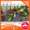 La diapositiva plástica del nuevo del diseño juego al aire libre de la escuela parte el equipo del patio