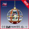 مهرجان داخليّ أحمر يعلّب مصباح عيد ميلاد المسيح زخرفة مصباح