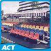 El aluminio plástico de la silla/los asientos de acero monta los blanqueadores para los asientos de interior de la audiencia del blanqueador de la gimnasia de la venta