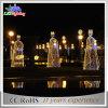 Im Freien feenhafte Lichter des Dekoration-Winkel-Zeichenkette-Weihnachtenled