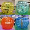 Colorer la boule de butoir gonflable transparente de TPU