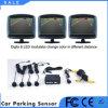 Sistema ultra-sônico do estacionamento do sensor do alarme colorido do carro do indicador do LCD