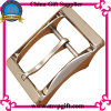 Metallo Belt Buckle con Rosa Gold Color