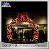 luzes iluminadas diodo emissor de luz do arco da festão do Natal de 3m para o mercado super