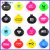 Custom Logo Silicone Coin Bag Holder Kids Wallet Purse