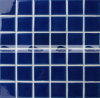 mattonelle di mosaico di ceramica lustrate Carckle blu scuro del raggruppamento di 48X48mm (BCK658)