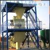 Polvere asciutta della pianta della macchina di produzione della scaletta del mortaio che fa macchina
