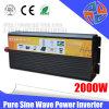 2000W 12V 220V de onda sinusoidal pura potencia con Ce aprobación uso para el sistema solar fuera de la red