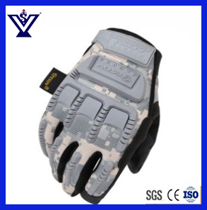 Tactical Outdoor Sports Full Finger Military Fans Camo Gloves (SYSG-1854) pictures & photos