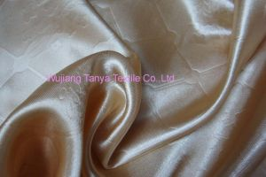 Ebossed Satin/Polyester Satin Fabric