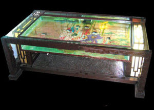 Acrylic Oblong Tea Table Aquarium (2m*0.7m*0.53m)