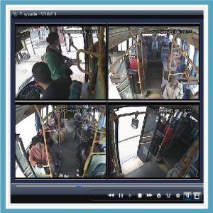 CCTV Dvt/ H. 264 DVR/ SD Card Car DVR (HT-6704)