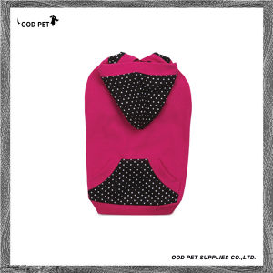 Polka DOT Fashion Dog Clothes Dog Hoodie (SPH6011) pictures & photos