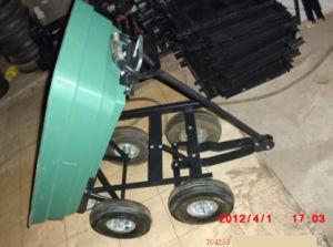 Dump Cart Trolley Tc4253 Truck Wheelbarrow Garden Tool Cart
