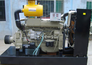 4 Cylinders Ricardo 4 Stroke Water Cooled 4.33L Displacement Turbocharged Big Power Diesel Engine with Clutch for Irrigation Use (model: 4100ZP, 2000rpm, 78kw) pictures & photos