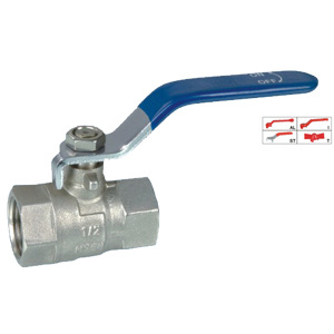 Brass Ball Valve (BV-1012) with Steel Handle pictures & photos
