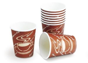 Disposable Singel Wall Paper Coffee Cup pictures & photos