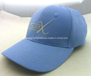 Custom Blue Polyester 6 Panel Baseball Sports Cap pictures & photos