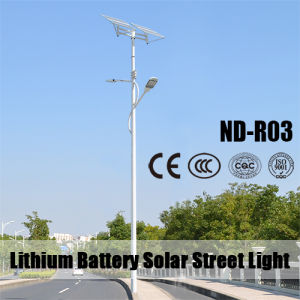 Double Arms Solar Street Light pictures & photos