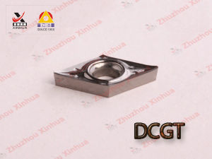 Aluminium Turning Inserts for Cemented Carbide Cutting Tools Dcgt pictures & photos