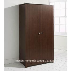 Classic Wooden Bedroom Furniture 2 Door Wardrobe (WB51) pictures & photos