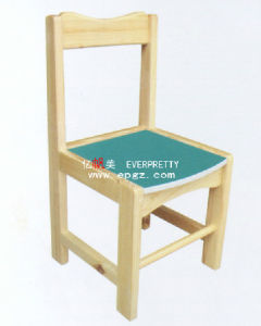 High Quality Cheap Kid′s Wooden Chair (SF-06C) pictures & photos
