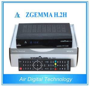 Combo HD Receiver Zgemma H. 2h DVB-S2+DVB-T2/C with SD/TF Card pictures & photos
