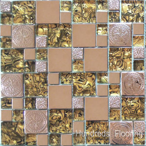 Stainless Steel Metal Mosaic Wall Tile, Glass Mosaic (SM211) pictures & photos