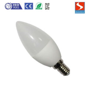 LED Bulb Lamp Candle Shape E27 3W/5W pictures & photos
