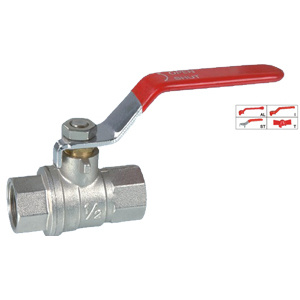 Brass Ball Valve (BV-1011) with Steel Handle pictures & photos