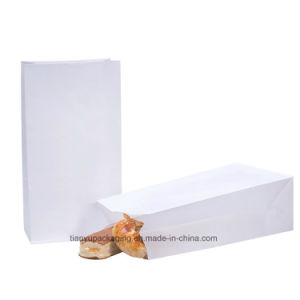 White Lunch Kraft Paper Bag Bakery Cake Grease Proof pictures & photos