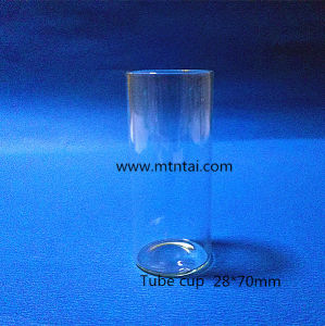 Low Borosilicate Glass Tube with Flat Bottom pictures & photos