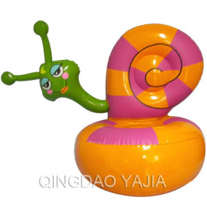 Pvc Inflatable Children Sofa-Snail(1012)