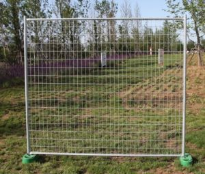 PVC Powder Coating Temporary Fence Panel pictures & photos