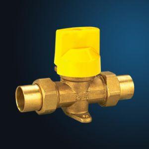 Brass Ball Gas Valve (MF18010) pictures & photos