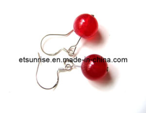 Semi Precious Stone Crystal Jewelry Earrings <Esb01909> pictures & photos