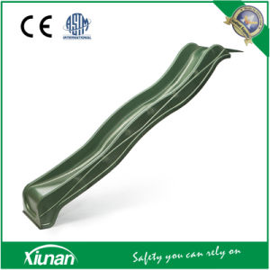 2.2m Green Wavy Slide for Swing Set pictures & photos