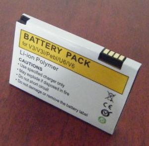 High Capacity Li-Polymer Mobile Phone Battery for Motorola V3/V3I pictures & photos