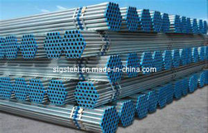 Hot Dipped Galvanized Steel Pipe in Stock pictures & photos