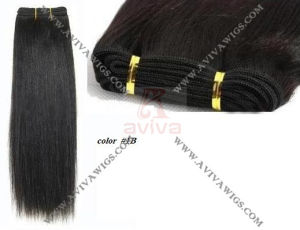 Unprocessed Natural Human Hair Weave with Double Drawn pictures & photos