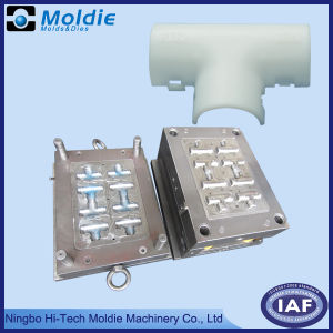 China Plastic Injection Moulding for Pipe Fitting pictures & photos