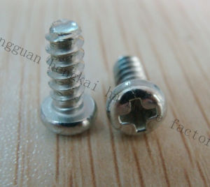 Philips Round Head Salf-Tapping Screw with Bule Zinc (HK107)