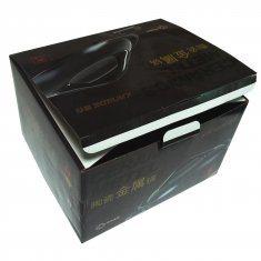 black printing big shipping box